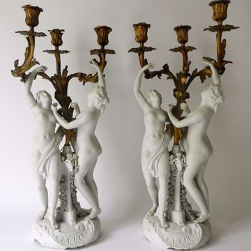 Picture of PAIR OF CANDELABRAS