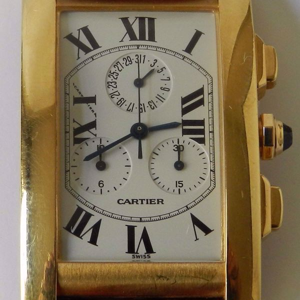 Picture of YELLOW GOLD WRISTWATCH FOR MEN