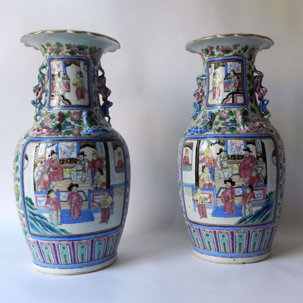 Picture of PAIR OF VASES