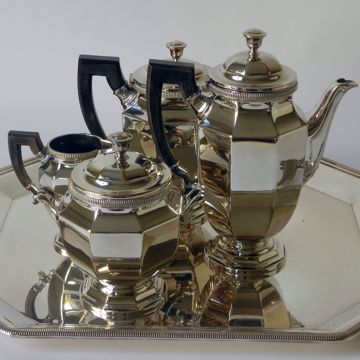 Picture of OCTAGONAL COFFEE AND TEA SET