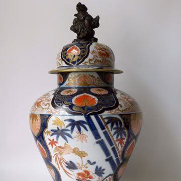 Picture of OVOID COVERED VASE
