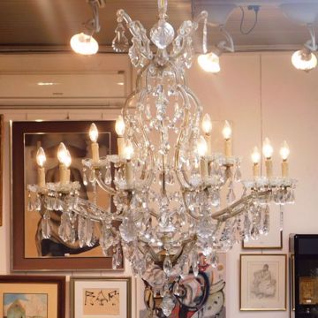 Picture of CRYSTAL CHANDELIER