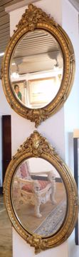 Picture of PAIR OF GILT MIRRORS