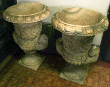 Picture of PAIR OF GARDEN VASES